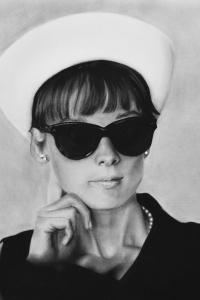 Audrey Hepburn & Hoed #2