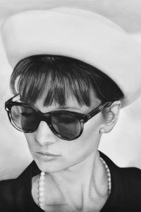Audrey Hepburn & Hoed