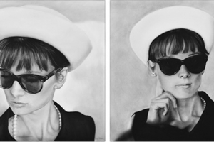 1962 Audrey Hepburn drawings